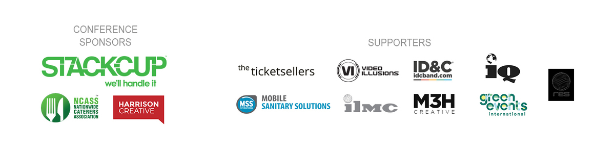 GEI 12 Sponsors and supporters