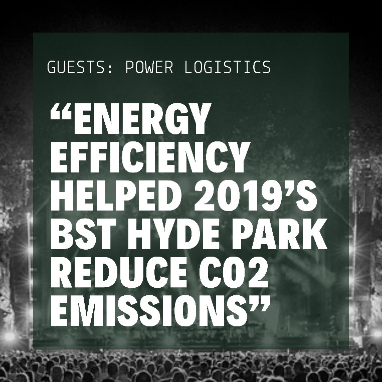 Power Logistics Green Initiatives to reduce CO2 Emissions