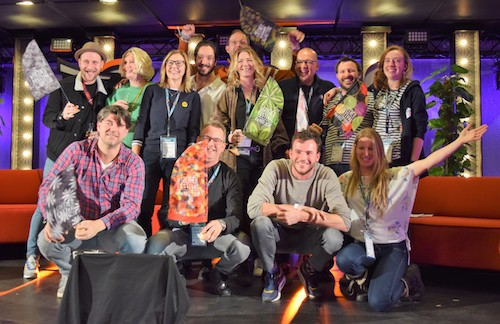 Winners of the A Greener Festival Award at ESNS 2019 (Ben Challis)