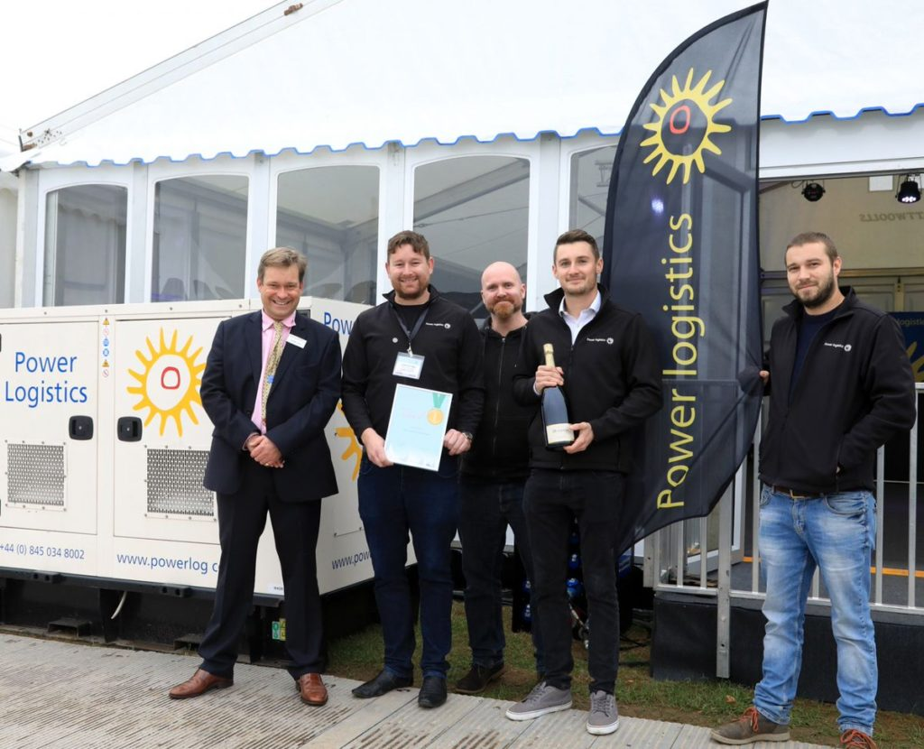 Award-winning power suppliers - Power Logistics